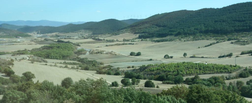 Landbruksområde i Nord Spania (Foto: K. Gransæther)