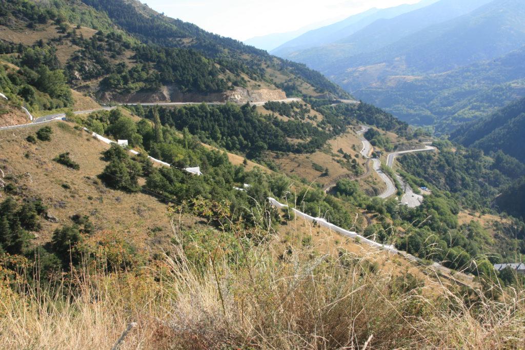 Pyreneene på fransk side (Foto: K. Gransæther)